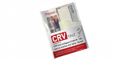 """CRV Test antigenní (COVID-19) """"E"""" balení"""